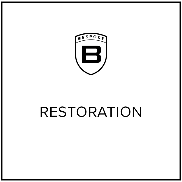 "Website Graphics Button ""Restoration"""