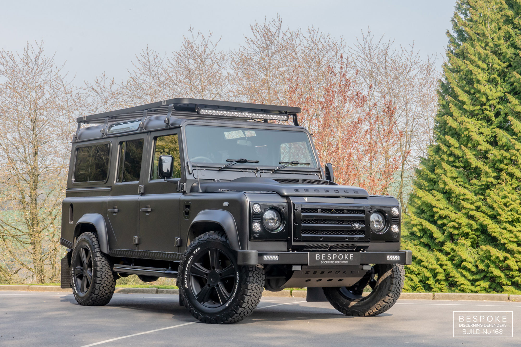 BESPOKE Land Rover Defender Build 206